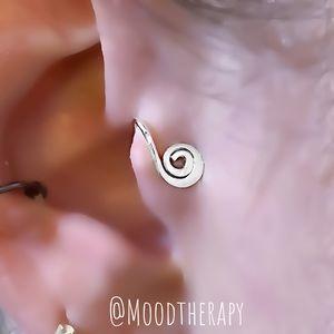 Fake Tragus Ear Cuff Cartilage Earring